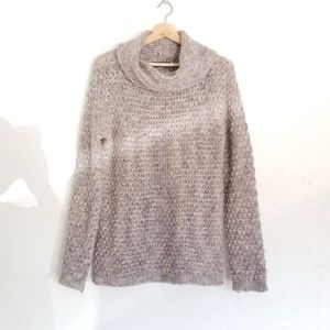 Anthro Elsamanda Mohair Wool Cowl Neck Sweater